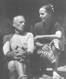 Scott Nearing and Helen Nearing (photo credit: Boston University's Nearing Collection)