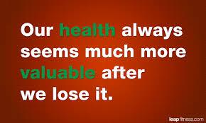 losing health