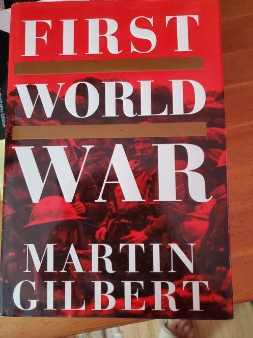 First world war book cover
