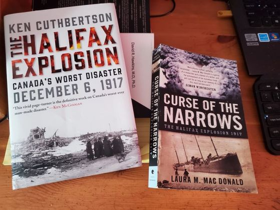 halifax explosion books